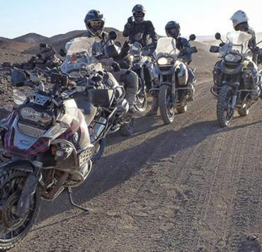 Ride To Roots Meeting moto offroad en el desierto de Marruecos