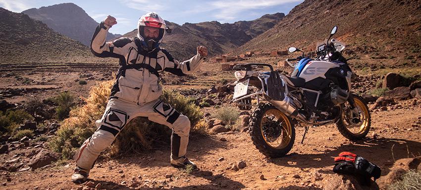 Pista Bouafer en Marruecos